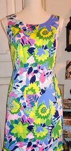 Talbots Modern Floral Dress